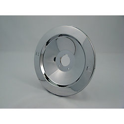 Jag Plumbing Products Replacement Shower Escutcheon Plate, Fits MOEN - Chrome Plated Recessed 7 inch