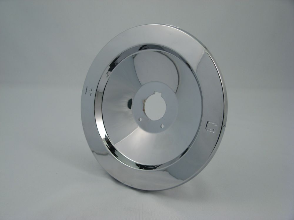 Replacement Shower Escutcheon Plate, Fits MOEN - Chrome Plated Recessed 7 inch