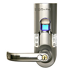 Bio-Matic Silver Lefthand Fingerprint Lock