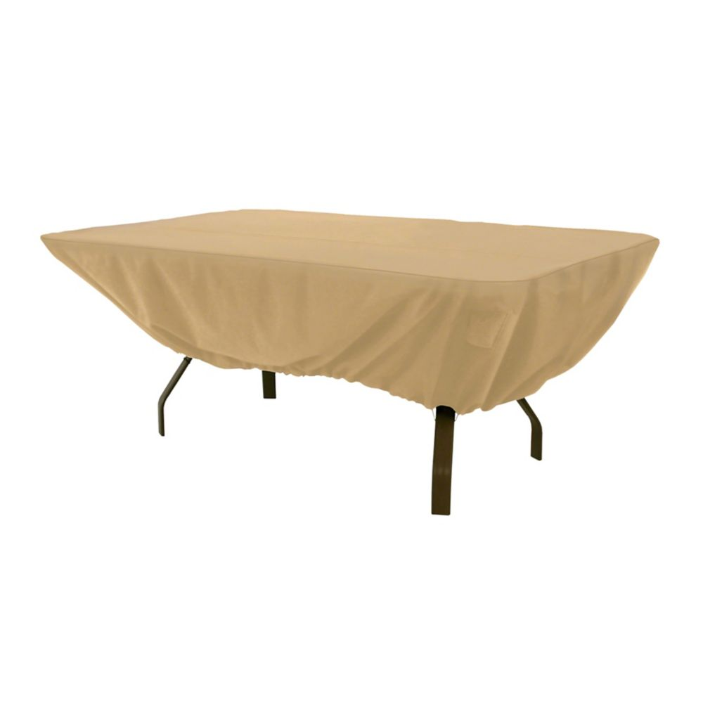 Classic Accessories Terrazzo Patio Table Cover, Rectangular / Oval
