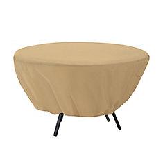 Housse pour table ronde de patio