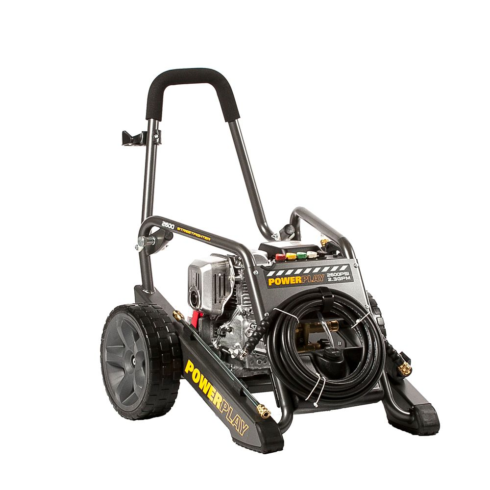 Streetfighter 2600 PSI 2.3 GPM Honda GC160 Engine Annovi Reverberi Axial Pump Gas Pressure Washer
