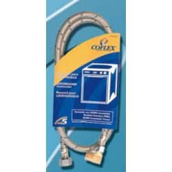 Jag Plumbing Products Coflex Stainless Steel Braided 90 Degree Angle Dishwasher Supply Hose 72-inch x 3/8-inch Comp x Elbow 3/8-inch Mip Comp