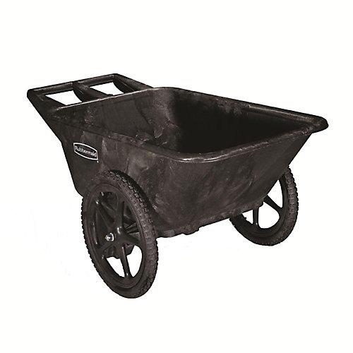 Chariot de jardin en plastique de 7,5pieds cubes Rubbermaid Commercial Products