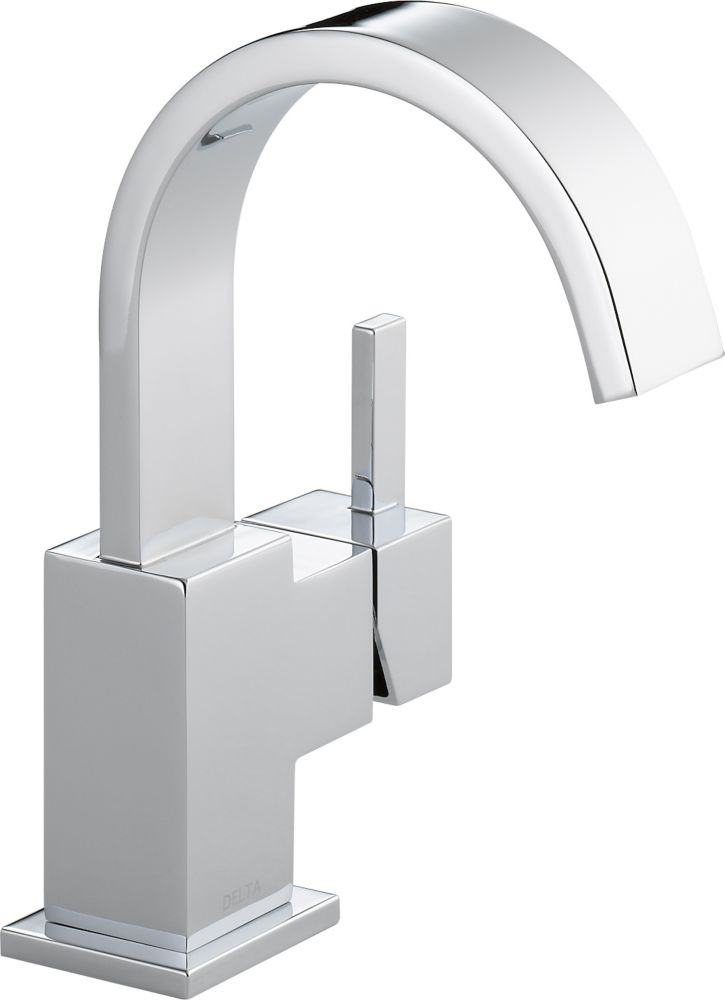 Vero Single Hole 1-Handle High-Arc Bathroom Faucet in Chrome 553LF in Canada