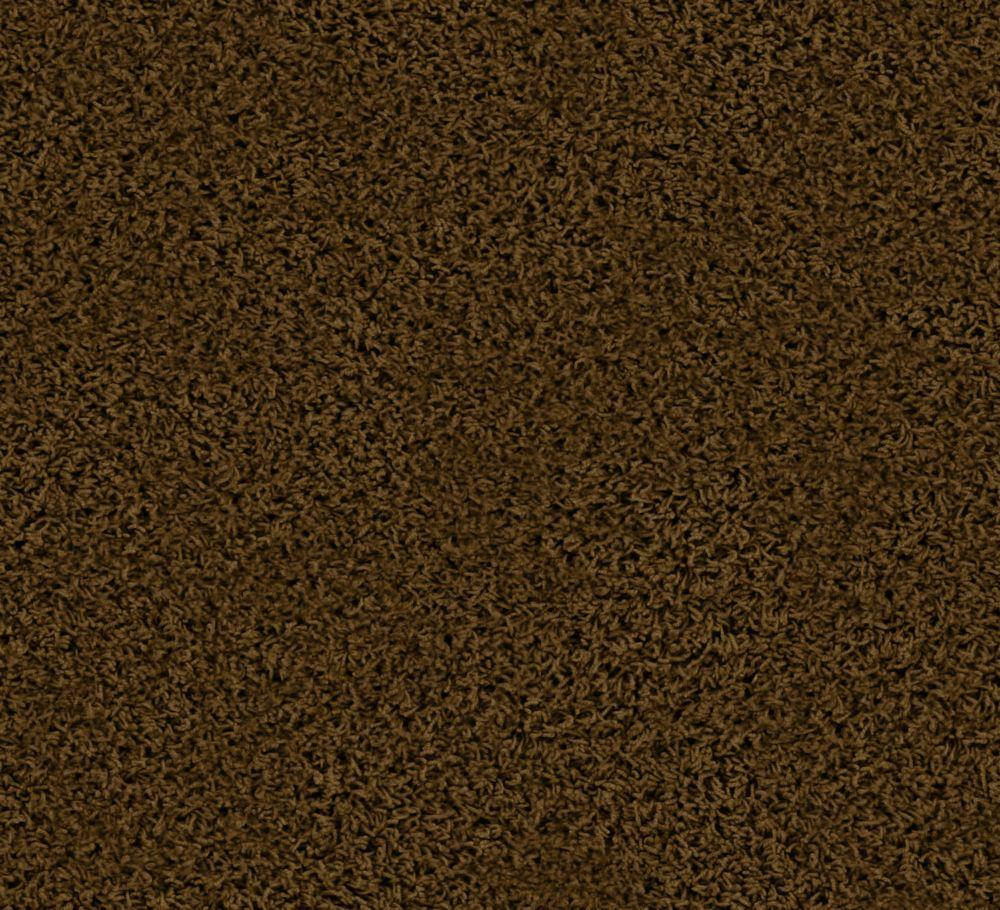 Pleasing I - Brun antique tapis - Par pieds carrés