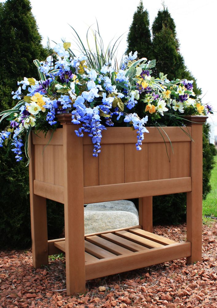 Bloomsbury Composite Raised Planter Box