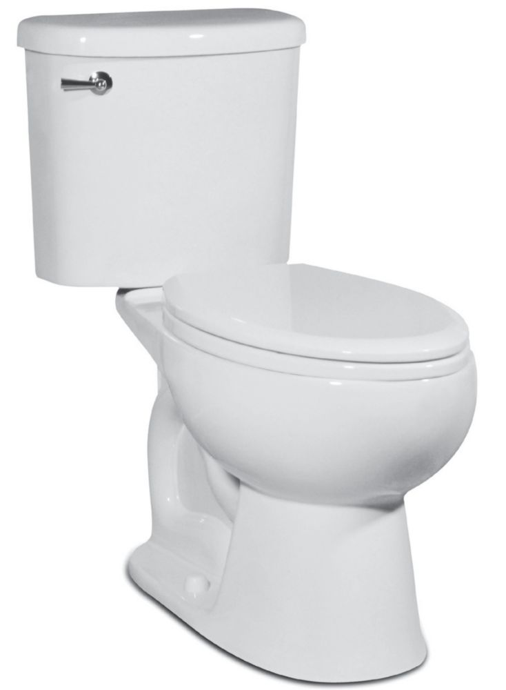 Palermo Toilet By St Thomas Creations Two-Piece 1.28 Gal. Elongated Bowl, in White