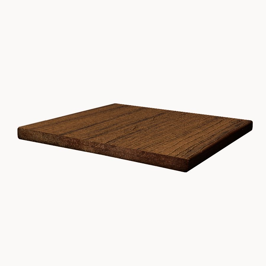 12 Ft. -  Transcend Tropical Composite Capped Fascia Spiced Rum - 1  In. x 12  In.