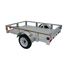 4' x 6' Galvanized Steel Utility Trailer