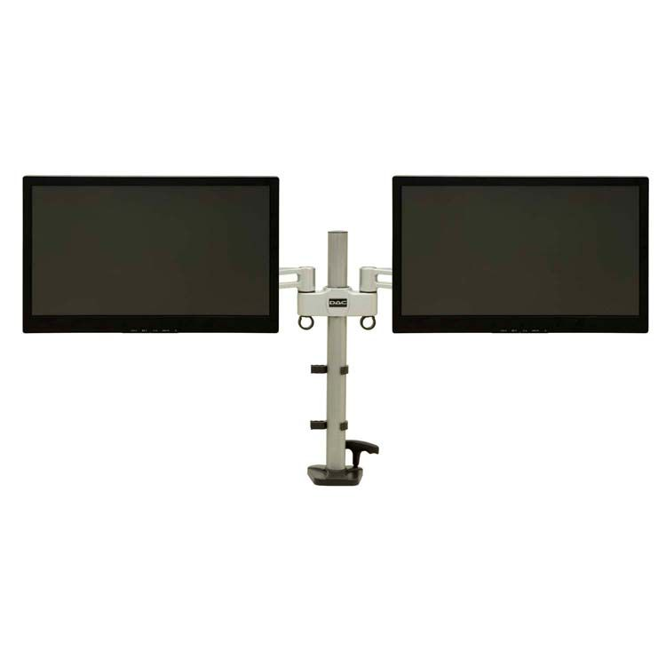 Height Adjustable Dual Articulating Monitor Arm - Monitors up to 27 inch (MP200)