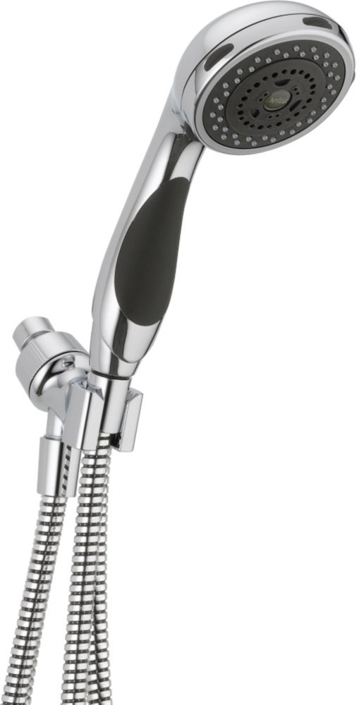 Classic 3-Function Hand Shower with Wall-Mount in Chrome
