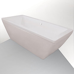 Jade Bath Fairmount 6 Feet Rectangular Freestanding Bathtub
