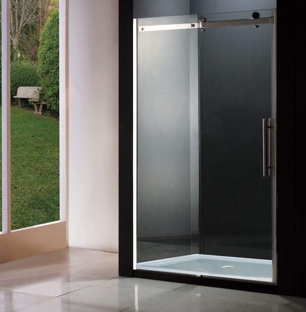Jade Bath Regal 48-Inch Shower Door With Base