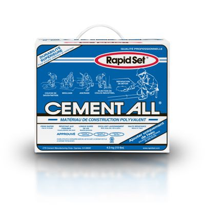 Matériau de construction à usages multiples Cement All 10 lb