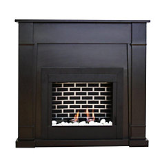 Wilson Gel Fuel Fireplace in Espresso