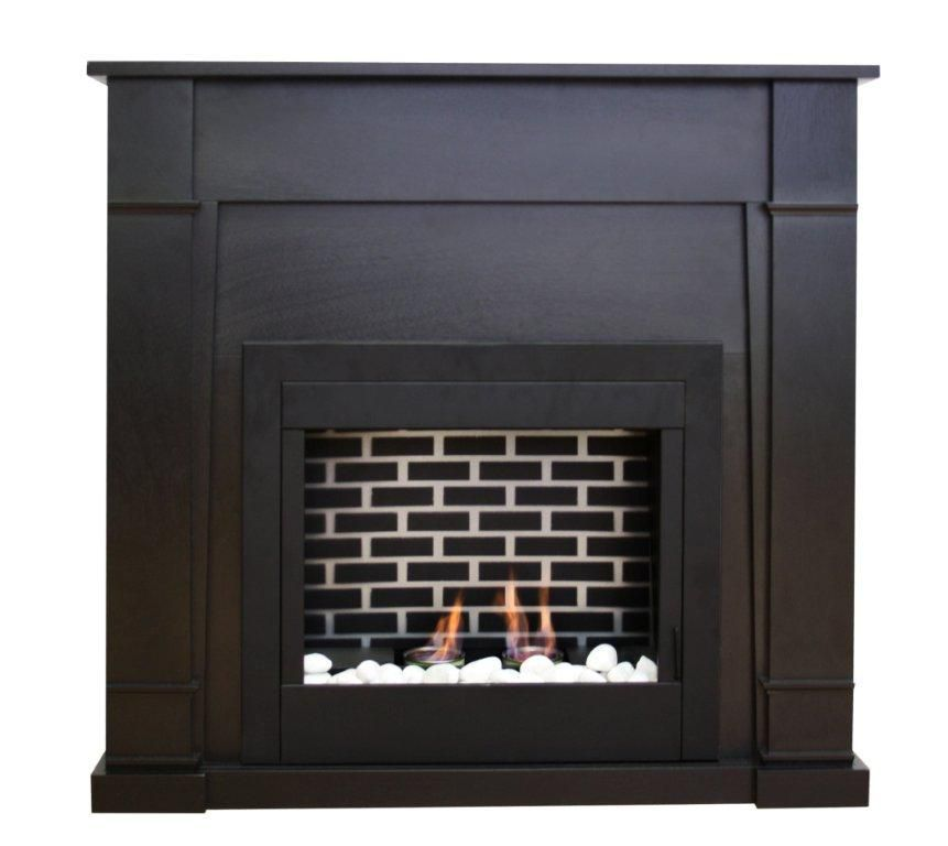 Paramount Wilson Gel Fuel Fireplace in Espresso