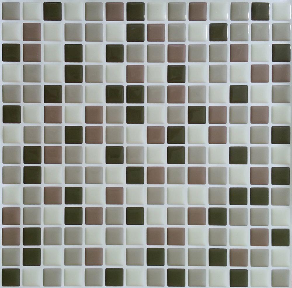 Brown Mini Stick-It tile 10 x 10  Single Pack (1 Tile)