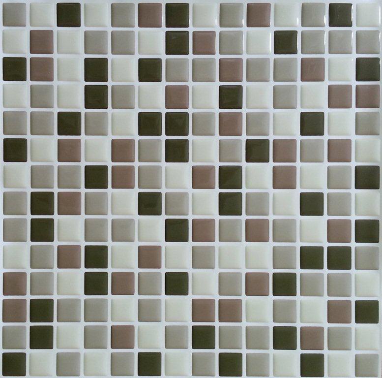 Brown Mini Stick-It tile 10X10  Bulk Pack (8 Tiles)