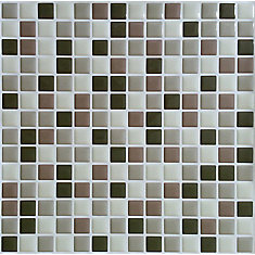 Brown Mini Peel and Stick-It tile 10X10 Bulk Pack (8 Tiles)