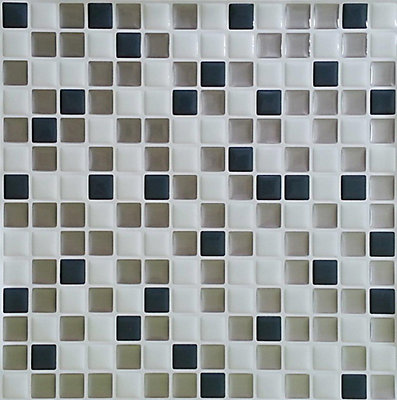 Stick It Tiles Steel Mini Tile 10x10bulk Pack 8 The Home Depot Canada