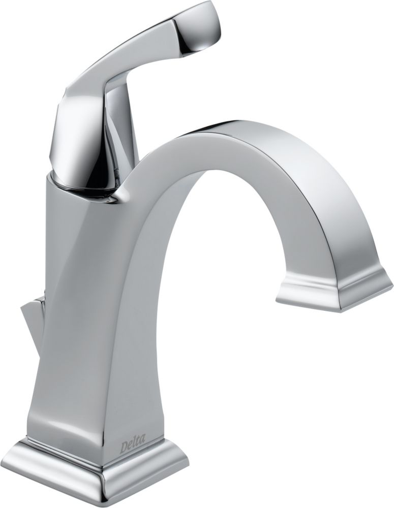 Dryden Single Hole Single-Handle High-Arc Bathroom Faucet in Chrome Finish