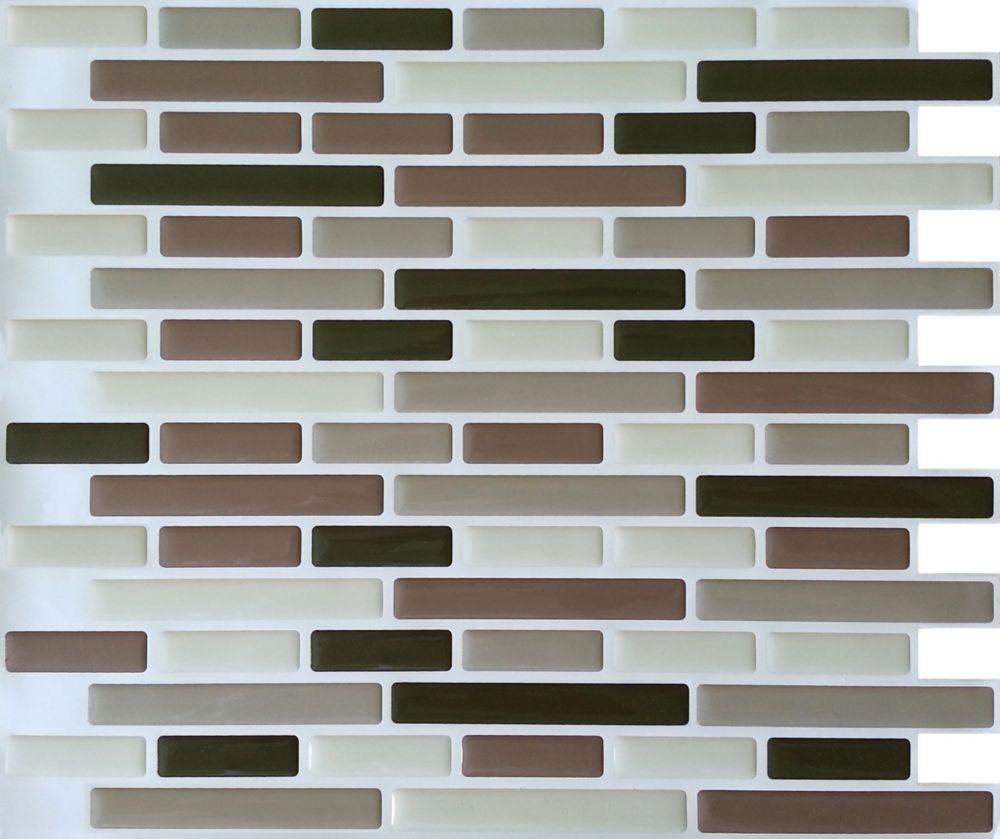 Browns Oblong Stick-It tile 11 x 9.25  Single Pack (1 Tile)
