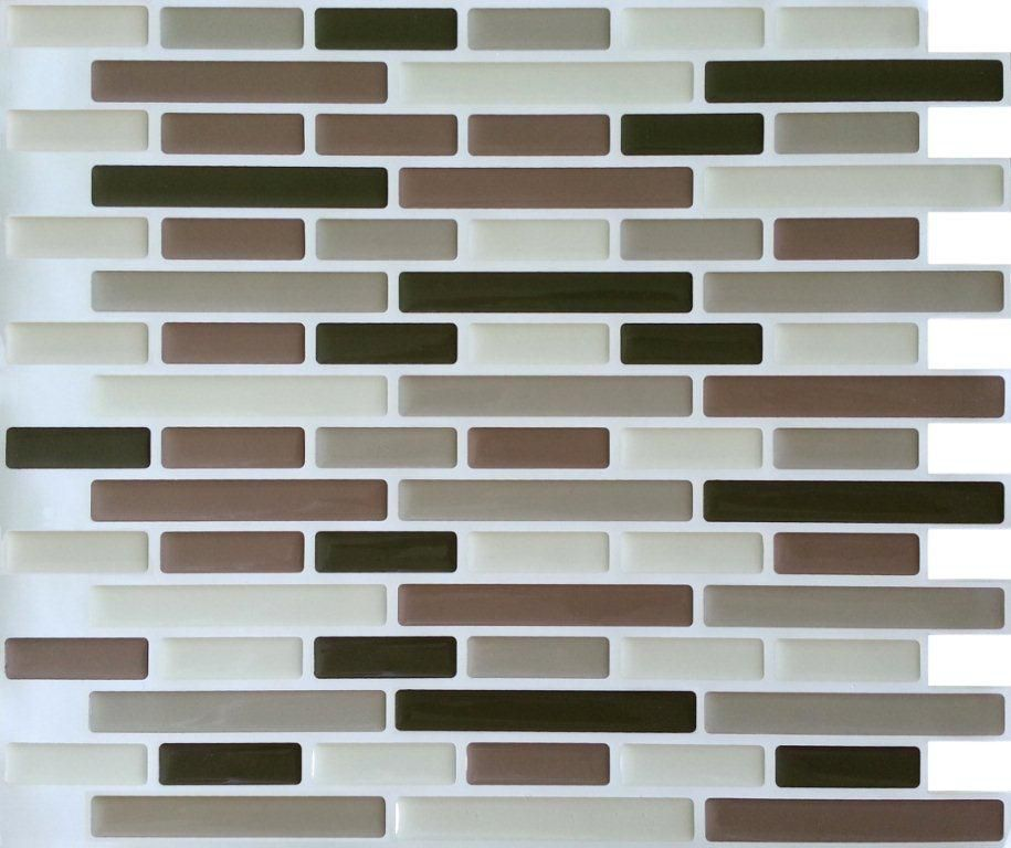 Browns Oblong Stick-It tile 11X9.25  Bulk Pack (8 Tiles)