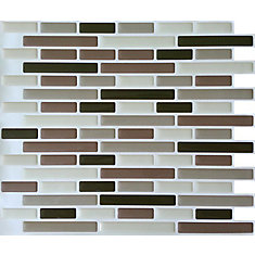 Browns Oblong Peel and Stick-It tile 11X9.25 Bulk Pack (8 Tiles)