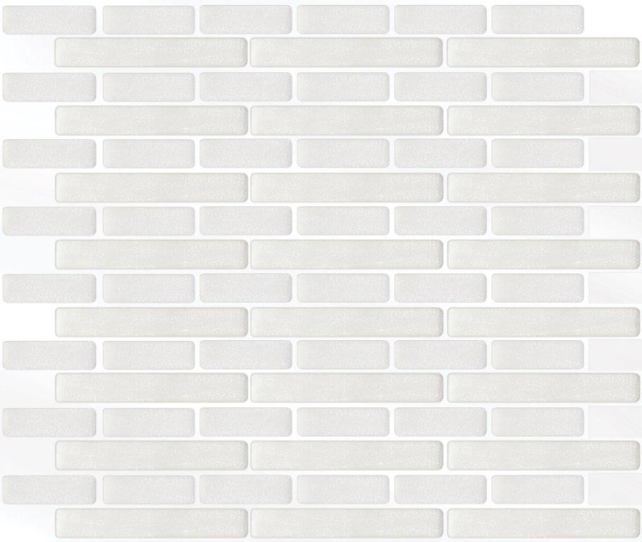 White Oblong Stick-It tile 11X9.25  Bulk Pack (8 Tiles)