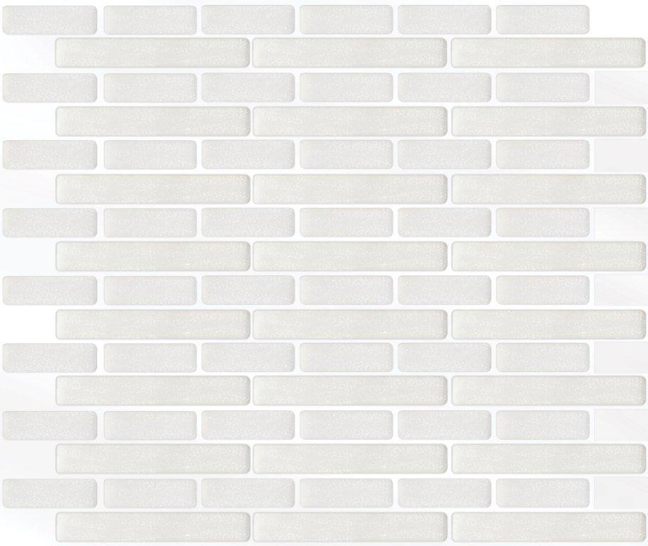 White Oblong Stick-It tile 11X9.25  Bulk Pack (8 Tiles)