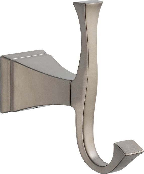 Dryden Single Robe Hook in Stainless