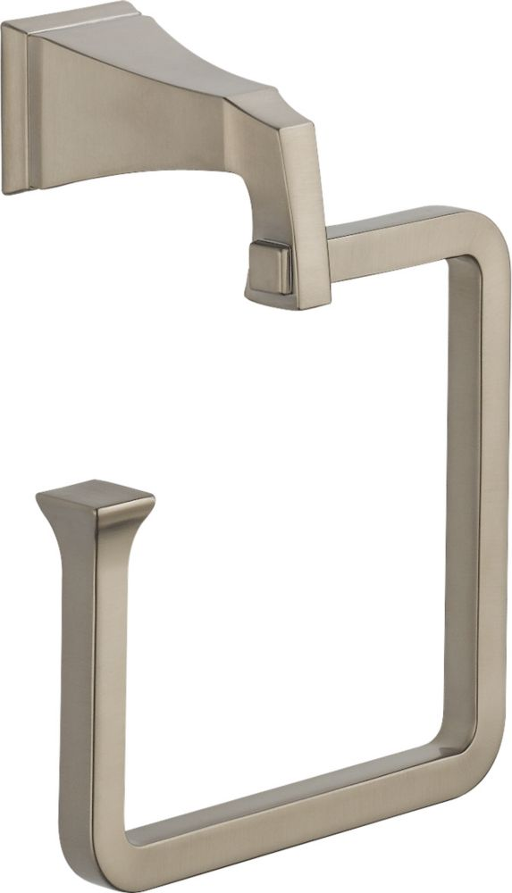 Dryden Towel Ring in Stainless