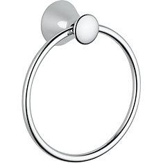 Lahara Towel Ring in Chrome