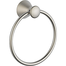 Lahara Towel Ring in Stainless Steel