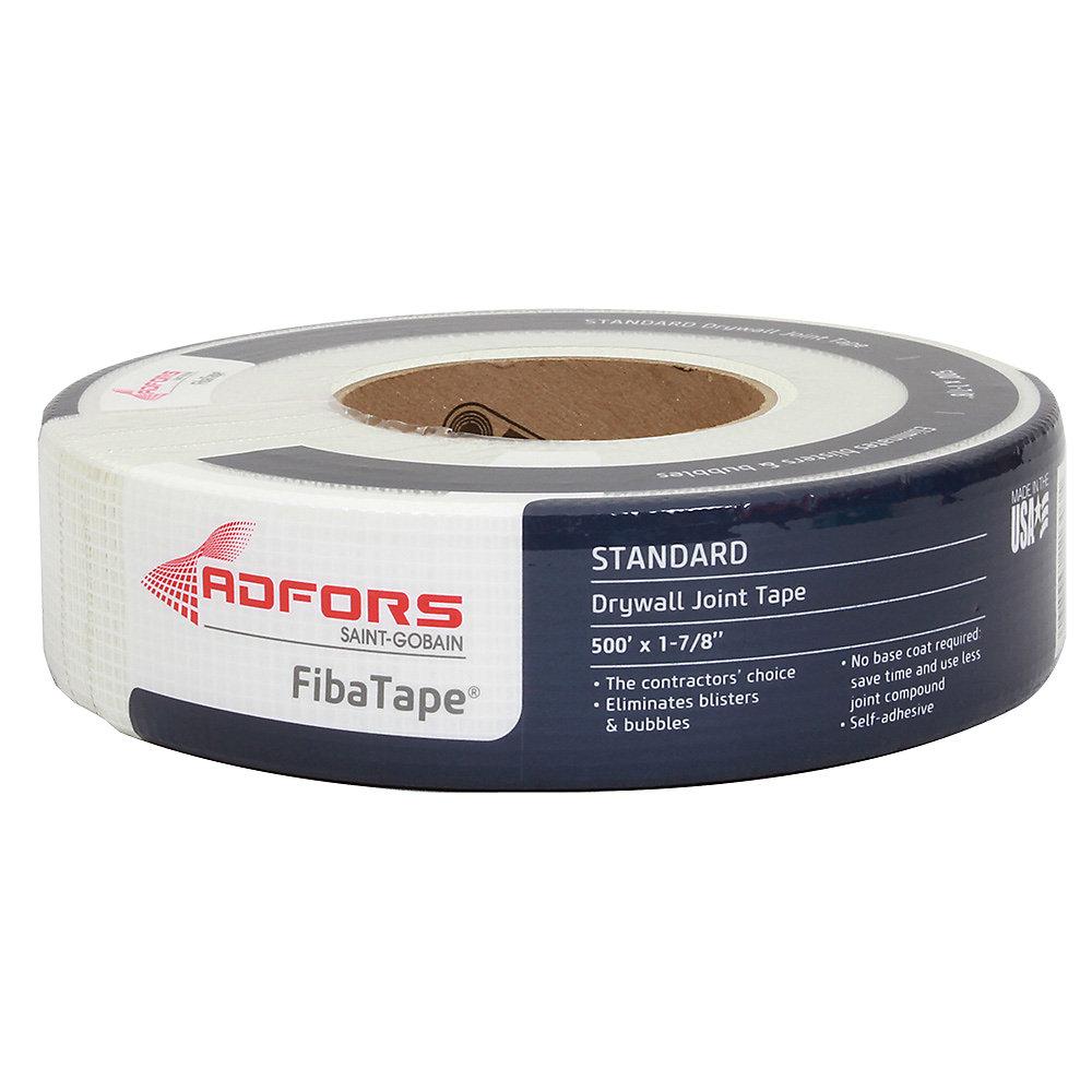 FibaTape 1-7/8 po x 300 pi. Ruban adhésif blanc à mailles autoadhésives pour joints de cloison sèche