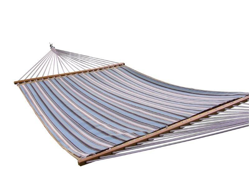 Sunbrella<sup>®</sup>Quilted Double Hammock in Carnegie Celeste