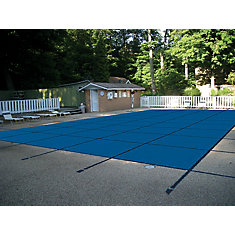 20 ft. x 40 ft. Blue Mesh Pool Safety Cover