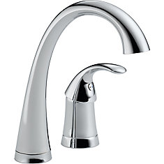 Pilar Single-Handle Bar Faucet in Chrome