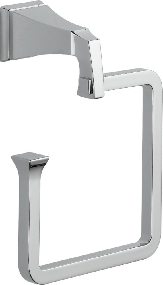 Dryden Towel Ring in Chrome