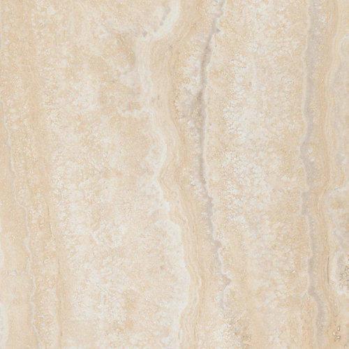 Locking Aegean Travertine Natural 12-inch x 23.82-inch Luxury Vinyl Tile Flooring (19.8 sq. ft./Case)
