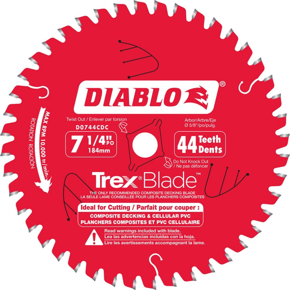 7-1/4 Inch Trex Blade