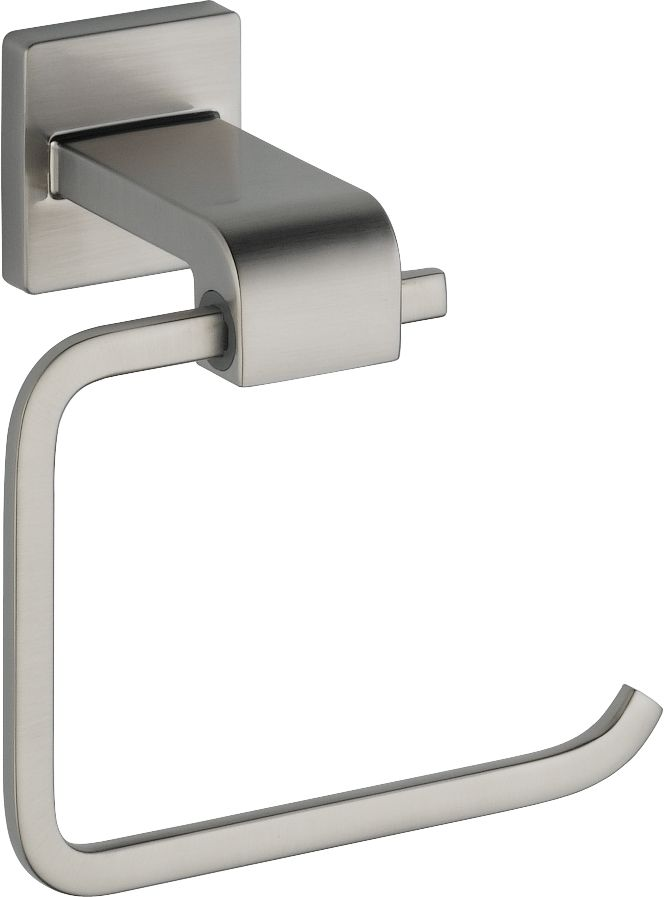 Arzo Single Post Toilet Paper Holder in Stainless