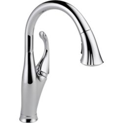 Delta Addison Single-Handle Pull-Down Sprayer Kitchen Faucet in Chrome with MagnaTite Docking