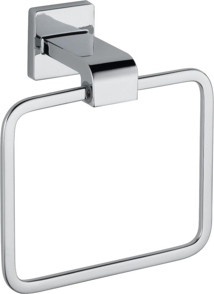 Delta Arzo Towel Ring in Chrome