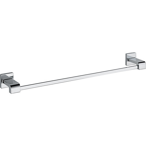 Arzo 24 Inch Towel Bar in Chrome