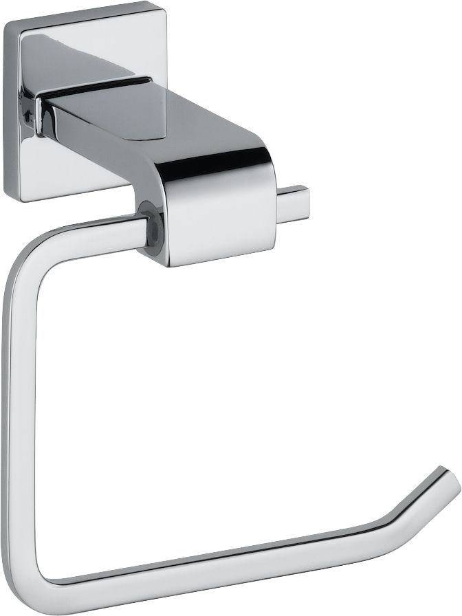 Arzo Single Post Toilet Paper Holder in Chrome