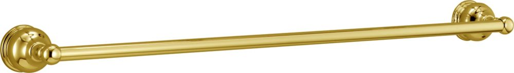 Traditional Collection 24 Inch Towel Bar in Polished Brass