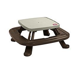 Little Tikes Table de pique-nique Endless Adventures<sup>®</sup> Fold 'n Store avec parasol de marché