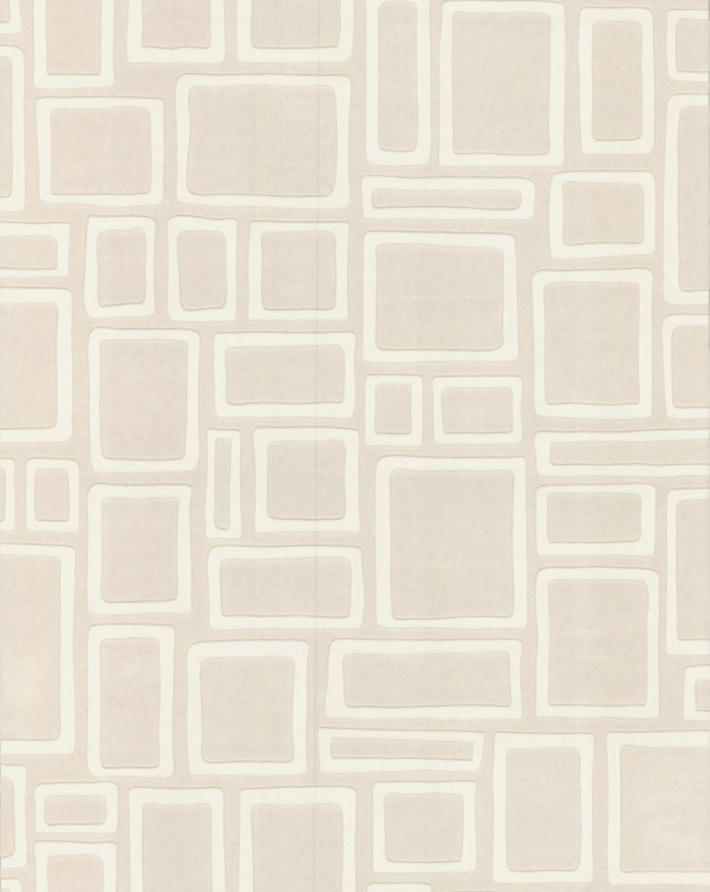 Squares Paintable Wallpaper Sample